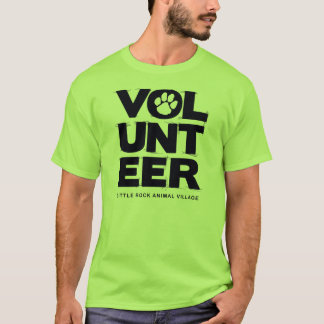 """Volunteer, LRAV"" T-shirt (Lime Green)"