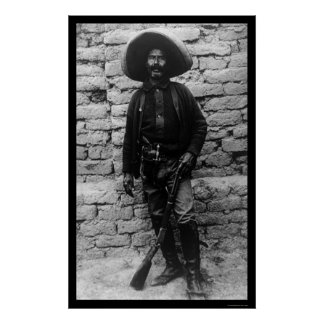 Volunteer Mexican Army 1909 Poster