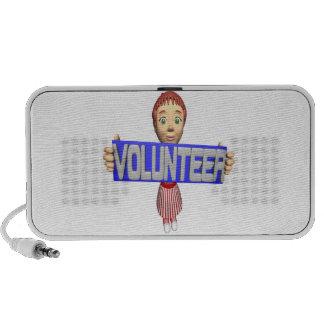 Volunteer Mini Speakers