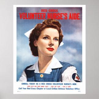 Volunteer Nurses Aide Poster