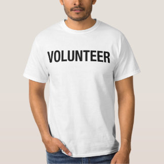 VOLUNTEER - one sided T-Shirt