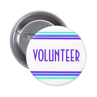 Volunteer Pinback Button