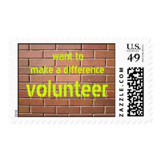 Volunteer Postage