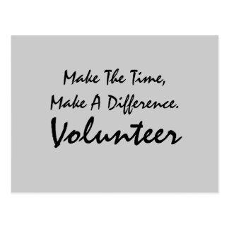 Volunteer Postcard