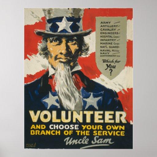 Volunteer Posters