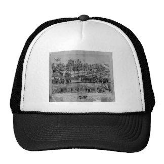 Volunteer Refreshment Saloon, civil war, 1861 Trucker Hat
