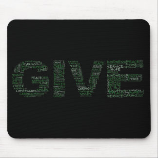 Volunteer: The Greatest Gift is Giving Yourself Mouse Pad