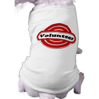 Volunteer Tshirts, Volunteer Buttons and more Doggie Tee Shirt