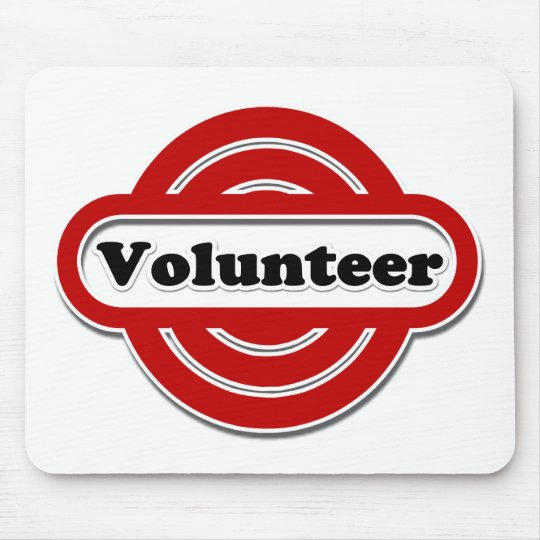 Volunteer Tshirts, Volunteer Buttons and more Mouse Pad