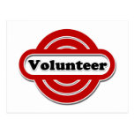 Volunteer Tshirts, Volunteer Buttons and more Postcard