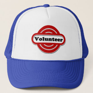 Volunteer Tshirts, Volunteer Buttons and more Trucker Hat