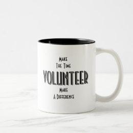 Volunteer Two-Tone Coffee Mug