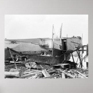 Volunteer Wreck: 1880 Poster