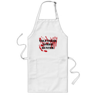 Volunteer Zombie Hunter Long Apron