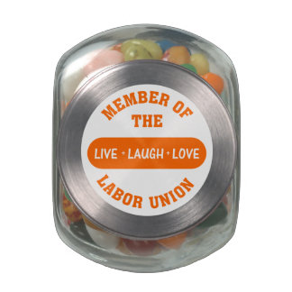 Volunteering to help others is a labor of love glass candy jars