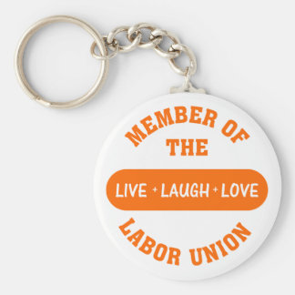 Volunteering to help others is a labor of love keychain