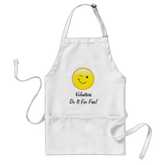 Volunteers Adult Apron