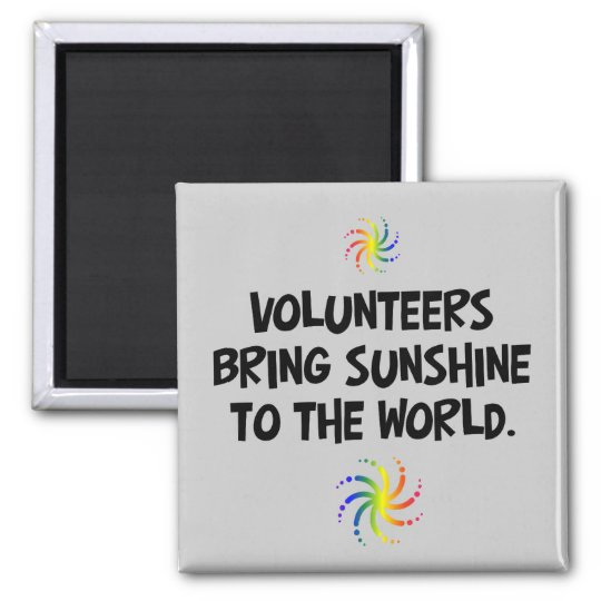 Volunteers bring sunshine to the world magnet