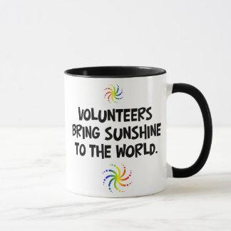 Volunteers bring sunshine to the world mug