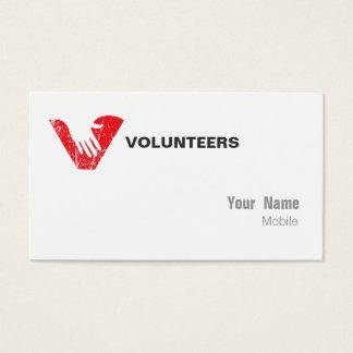 Volunteers Business Card