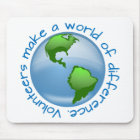 Volunteers Make a World of Difference Mouse Pad
