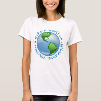 Volunteers make a world of difference T-Shirt