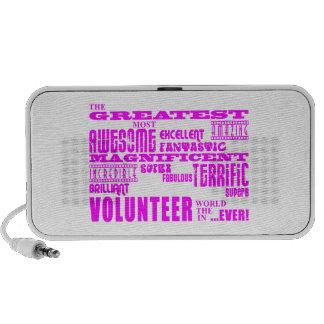 Volunteers : Pink Greatest Volunteer Mp3 Speaker