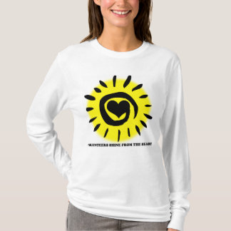 Volunteers shine from the heart light up the world T-Shirt