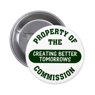 Volunteers Work to Create a Better Tomorrow Pinback Button