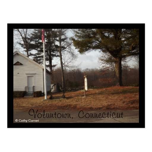 Voluntown, Connecticut Postcard