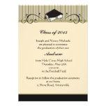 Voluta de la graduación - invitación de la graduac