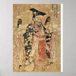 Voluta de trece emperadores (detalle) por Yan Libe Posters