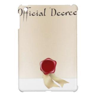 Voluta del certificado oficial iPad mini carcasa