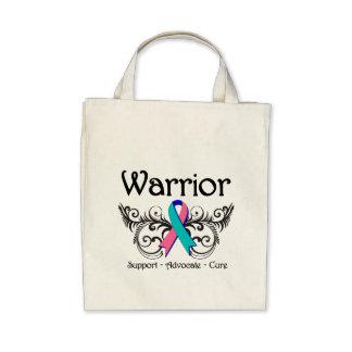 Voluta del guerrero del cáncer de tiroides bolsa
