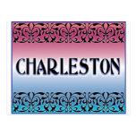Voluta del hierro de Charleston Postales