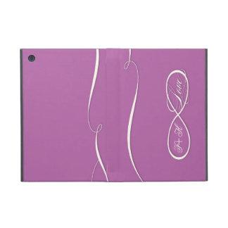Voluta infinita de los bodas del amor de la muestr iPad mini protector
