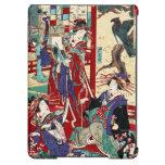Voluta japonesa fresca del geisha del trío del uki