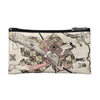 Voluta japonesa fresca del ukiyo-e del samurai del