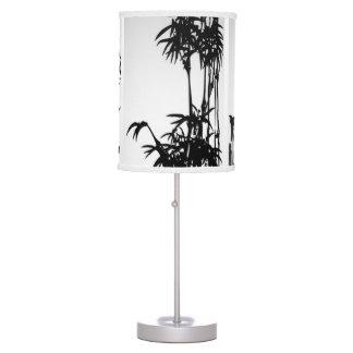 Voluta oriental vertical lámpara de mesa