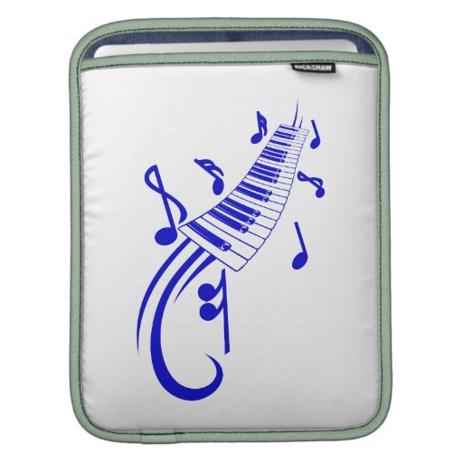 voluta y notas blue.png del teclado fundas para iPads