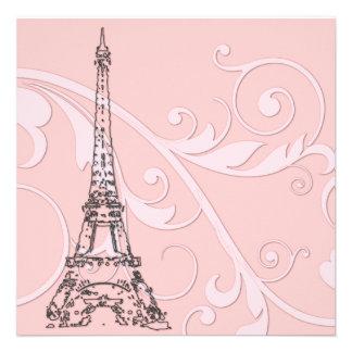Volutas y torre Eiffel Anuncios Personalizados