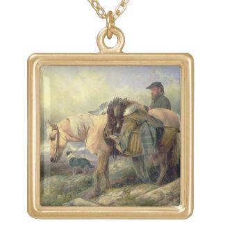 Volviendo de la colina, 1868 colgante cuadrado