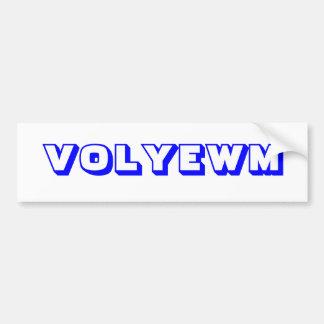 VOLYEWM BUMPER STICKER