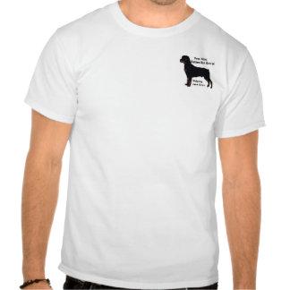 Vom Blue Rottweiler Rescue T Shirt