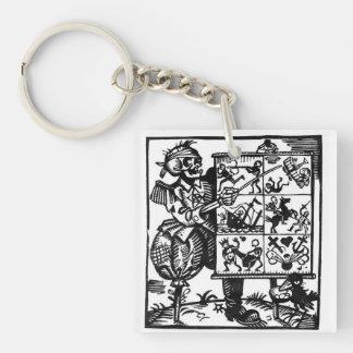 Vom Totentanz Death has a plan keychain