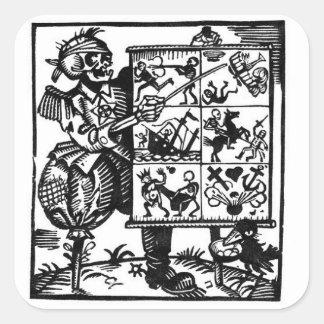 Vom Totentanz Death has a Plan sticker
