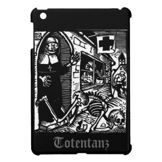 Vom Totentanz Nun and Skeleton ipad mini case