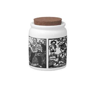 Vom Totentanz Otto Wirsching cookie jar Candy Jar