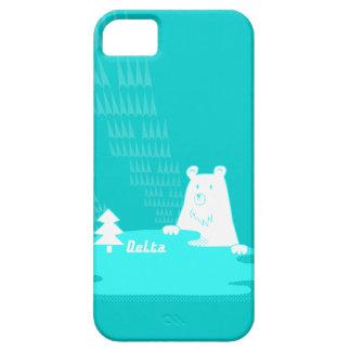 vom Wald de Bär del der del 湖と森の主くまさん iPhone 5 Funda