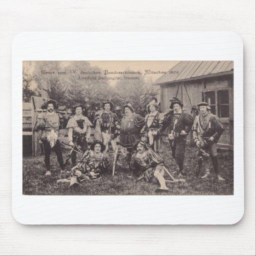 Vom XV Bundesschiessen, Munchen 1906 de Gruss Tapete De Ratones